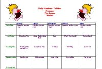 February Preschool Five Senses Week Activity Calendar
