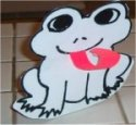 Frog's tongue craft – June preschool – Frog Week Theme