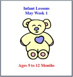 Infant May Curriculum Lessons Plans, Hands on Activities
