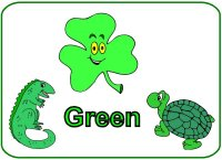 Toddler Color Display – Color Green