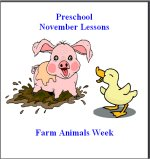 Click Here To View November Preschool Curriculum