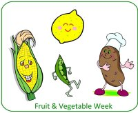 Preschool November Poster for Fruit & Vegetable unit