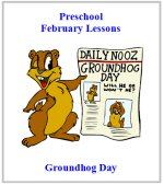 Groundhog Theme Preschool Curriculum Lesson Plans!!