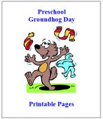 Groundhog Theme Preschool Curriculum Activity Pages!!