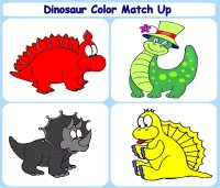 graphic about Dinosaur Matching Game Printable referred to as Little one Pursuits Printable Video games