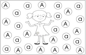 preschool september theme find the letters aa