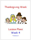 Thanksgiving Theme Preschool Curriculum Lesson Plans!!