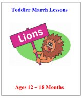 March Younger Toddler Curriculum  - Click here to buy