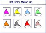 Match Up Hats By Color