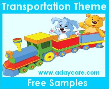 Transportation Theme Preschool Activities Lesson Plans Curriculum
